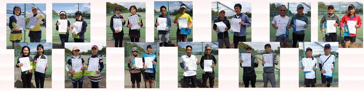 2021年度埼玉県ベテラン春季テニス選手権大会 - ダブルス優勝!