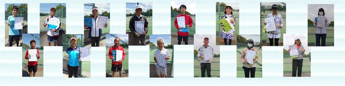 2021年度埼玉県ベテラン春季テニス選手権大会 - シングルス優勝!